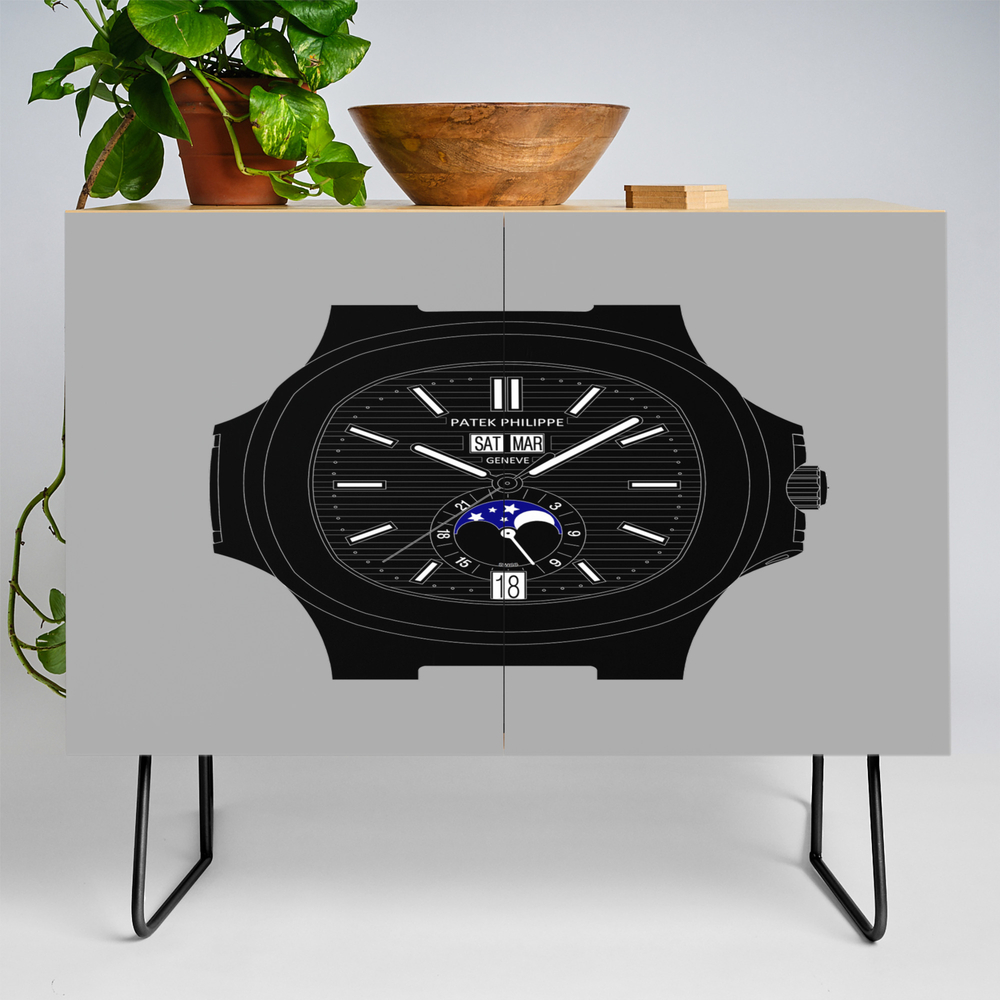 Patek Philippe - Nautilus - 5726 - Black Version Credenza by Bcpwatches