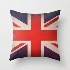 OLD UNITED KINGDOM FLAG Throw Pillow