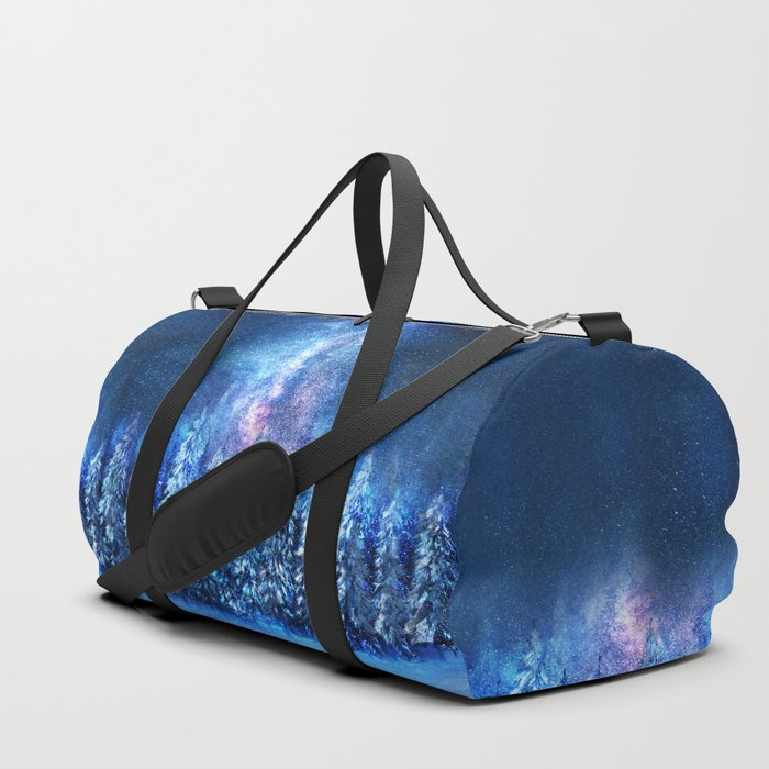 Forest under the Starlight Duffle Bag