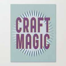 Craft Magic // Berry Canvas Print