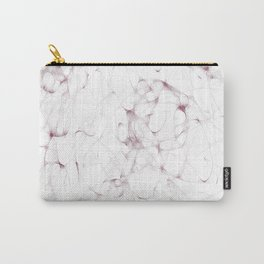 Ethnic lines on white Carry-All Pouch