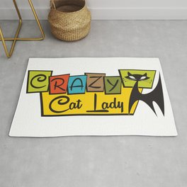 Crazy Cat Lady 4 Rug