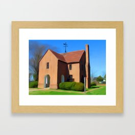 St. Mary's State House Painting Framed Art Print