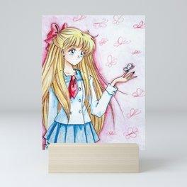 Minako Aino Butterfly Mini Art Print