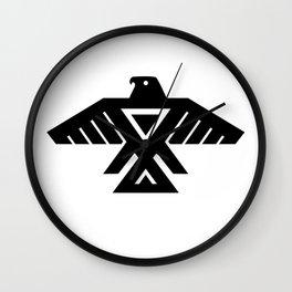 Thunderbird flag - Authentic Hi Def Wall Clock