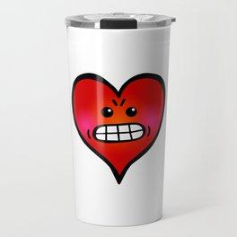Angry Heart Travel Mug