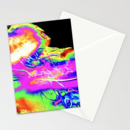 Light Painting Experiment 74 Stationery Cards