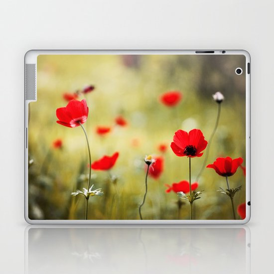 Wild Anemones Laptop & iPad Skin