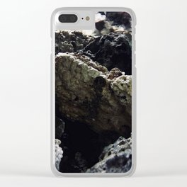 Abyssal entrance Clear iPhone Case