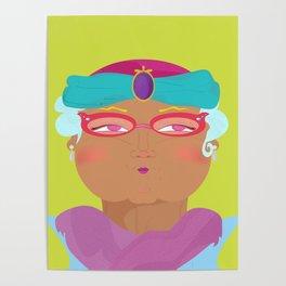 Silvia Cual Poster
