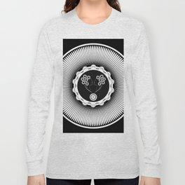 Art Nouveau Flower Long Sleeve T-shirt