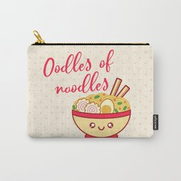 Oodles of noodles Carry-All Pouch