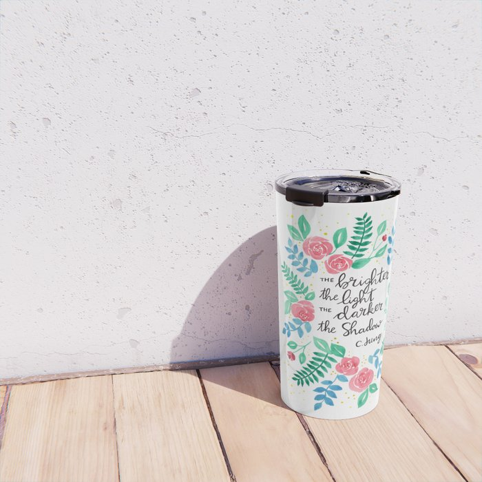 The Brighter the Light Travel Mug