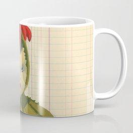 Creepiest Yet Most Wonderful Pincushion Ever in Gouache Coffee Mug