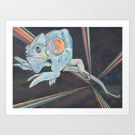 Chamalien Art Print