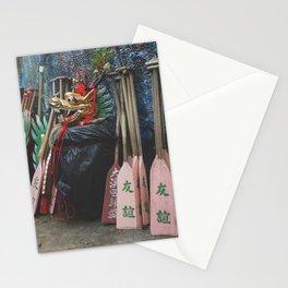 Dragon Boat Mask Stationery Cards