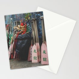Dragon Boat Mask Stationery Cards