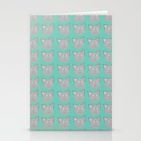 kittens Stationery Cards featuring Kittens by  Rikki