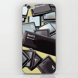 Send It iPhone Skin