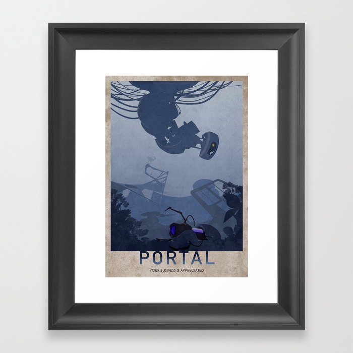 Portal Gerahmter Kunstdruck
