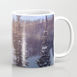 Winter sky Utah Coffee Mug