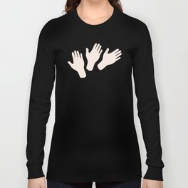 Waving Hands Long Sleeve T-shirt