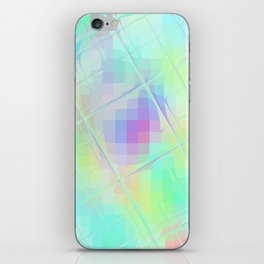 Re-Created Twisted SQ XXXII by Robert S. Lee iPhone Skin