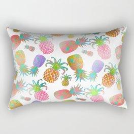Aloha Pineapples, Iridescent Effects Rectangular Pillow