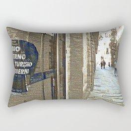 Barcelona digital street photography + Dreamscope Rectangular Pillow