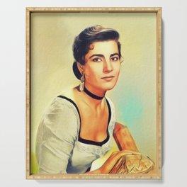 Irene Papas, Vintage Actress Serving Tray