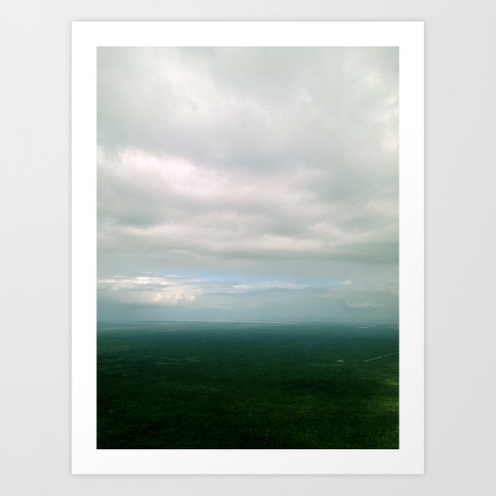 Above The Fray Art Print