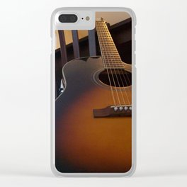 Strings And Lines Clear iPhone Case