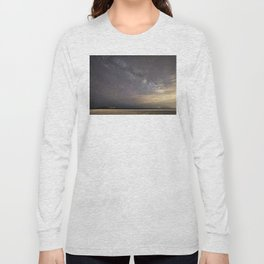 Shooting stars and the Milkyway Long Sleeve T-shirt
