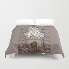 Leia's Corruptible Mortal State Duvet Cover