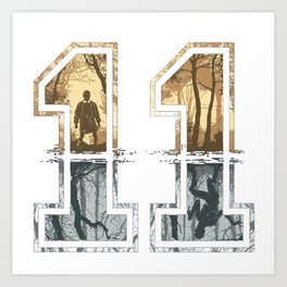 eleven hawksin Art Print