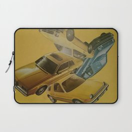 Four Car Pileup Laptop Sleeve