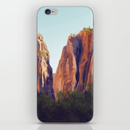 Zion National Park iPhone Skin