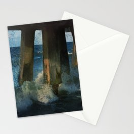 Beneath the Pier Stationery Cards
