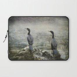 Two Cormorants Laptop Sleeve