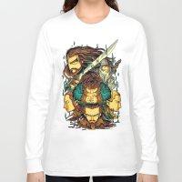 the hobbit Long Sleeve T-shirts featuring The Hobbit by anggatantama