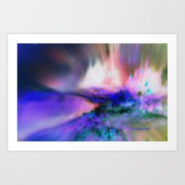BURSTING FROM THE INSIDE OUT Art Print