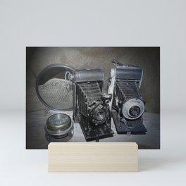 Vintage Lenses. Mini Art Print