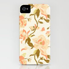 Magnolia Pattern iPhone (4, 4s) Slim Case