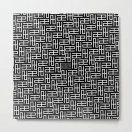 AE Pattern Metal Print