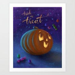 Trick or Treat! Art Print