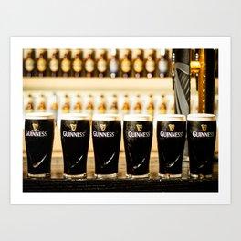 Guinness Time Art Print