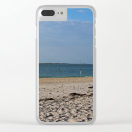 Early Morning on Gasparilla Island Clear iPhone Case
