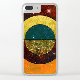 Abstract #123 Clear iPhone Case