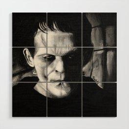 THE MONSTER of FRANKENSTEIN - Boris Karloff Wood Wall Art