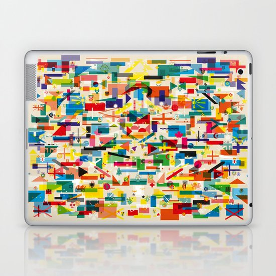 Olympic Village Laptop & iPad Skin